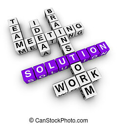 solution crossword