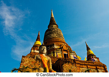 Buddhism temple - Temple in Thailand