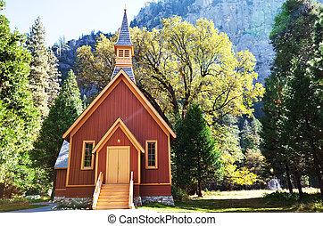 Chapel - chapel in Yosemite