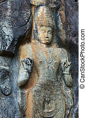Buddhist temple on Sri Lanka