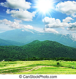 Crimean mountains - Crimean mountain