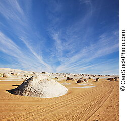 Desert in Egypt - White desert in Egypt