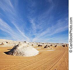 Desert in Egypt - White desert in Egypt