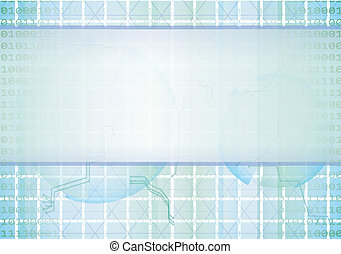 Abstract vector high-tech background