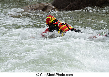 extreme sports scene in the decline of river rescue...