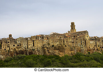 Pitigliano, rural village in Tuscany