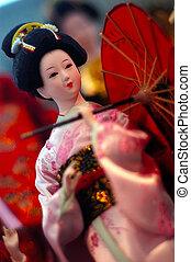 Travel Photos China - Hong Kong - Chinese doll on display in...