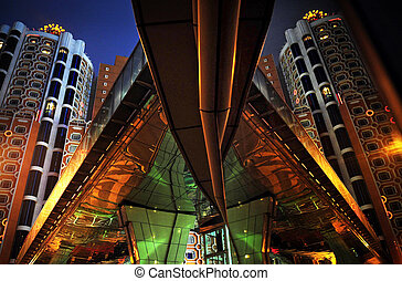 Trvael Photos China - Macau - The night scene of casinos in...