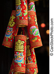 Travel Photos China - Hong Kong - Chines decorations in the...