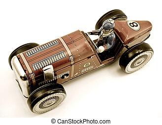car - old car toy