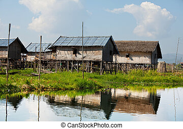 Inle Lake - Inle lake in Myanmar