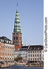 Part of Copenhagen - Gammel Strand in Copenhagen - the very...