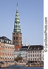 Part of Copenhagen - Gammel Strand in Copenhagen - the very...