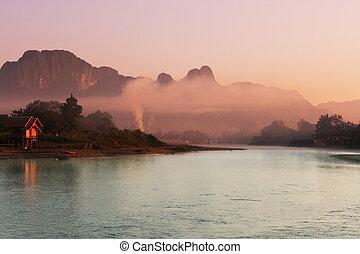 Laos landscapes