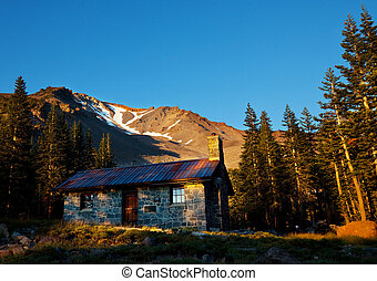 Mountain hut - Mountains hut on Shasta,California