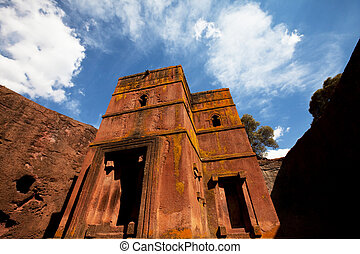 Lalibela - Church of St George, Lalibela