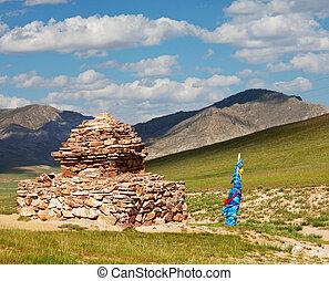 Mongolian landscape - mongolian landscapes