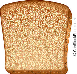 Toast over white EPS 10, AI, JPEG