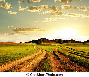 Prairie - Mongolian landscapes
