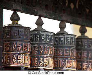 Prayer wheels - prayer wheels