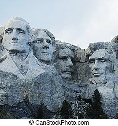 Rushmore monument