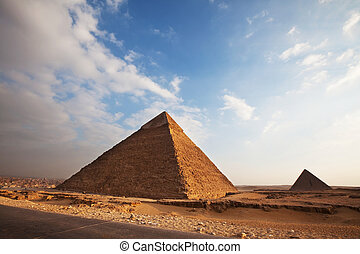 Pyramid in Giza - Egyptian pyramid