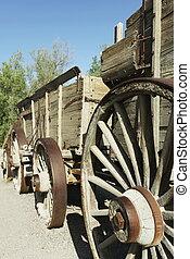 Old wagon - wood wagon