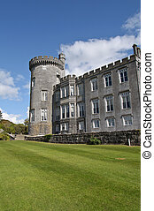 dromoland castle hotel, county clare, ireland - famous...