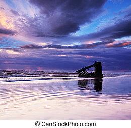 Wreck - Sea wreck