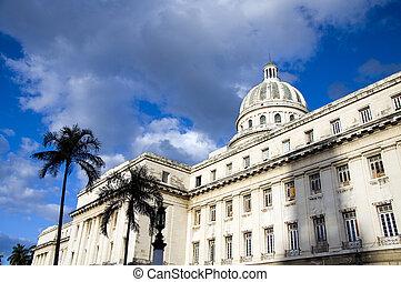 El,  cuba,  Capitolio, Avana,  la