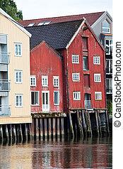 Trondheim - Cityscape of Trondheim, Norway