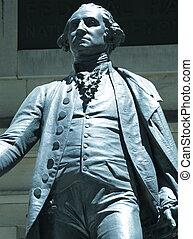 Washington monument - Statue of George Washington