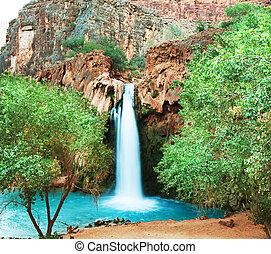 Waterfall Havasu - waterfall