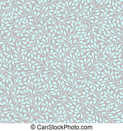 Abstract seamless pattern in two colors