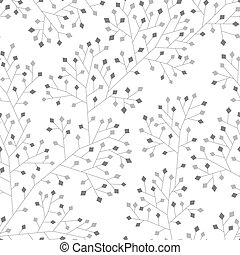 Abstract seamless pattern - Abstract seamless monochrome...