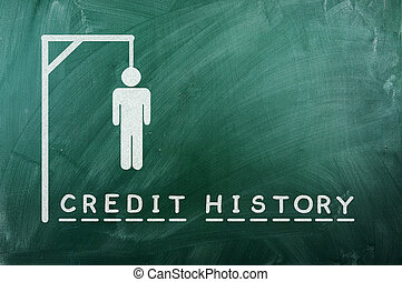 credit history - gallows game-businessman bancruptcy on...