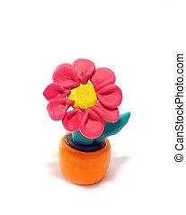 Plasticine, flor