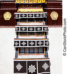 Tibetian decor - Potala decor in Tibet