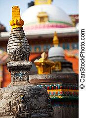 Stupa - stupa in Himalaya