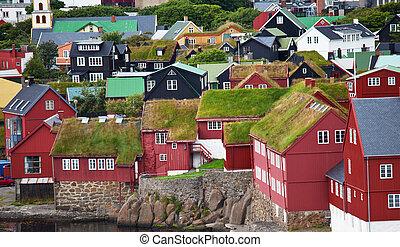 Torshavn on  Faroe islands