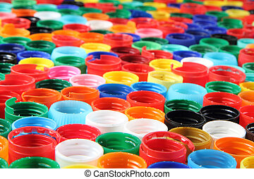 color plastic caps background - color plastic caps as nice...