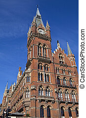 Grand Midland Hotel & Kings Cross Station - The victorian...