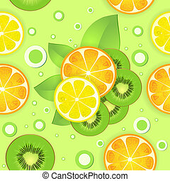 Background with citrus