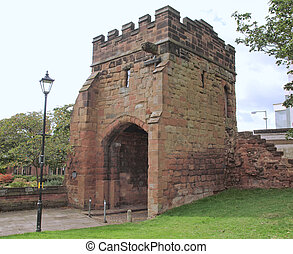Cook Street Gate, Coventry - Cook Street Gate in the...