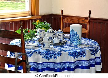 Vintage table setting - Holland MI