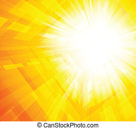 Bright oarnge background - Bright orange background with...