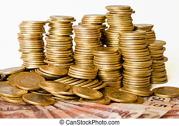 coins of mexican pesos