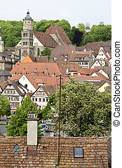 historic city in germany - historic city in south west...