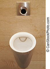 urinal  - The image of urinal under the white background