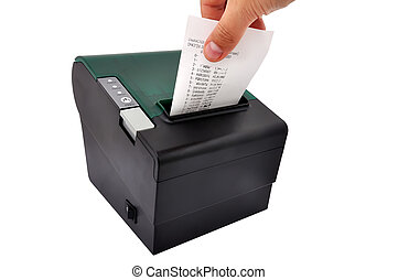 thermal printer and check - thermal printer for fiscal cash...